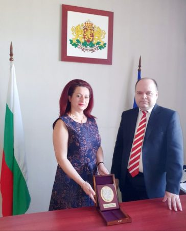 Награда за прокурор Христина Блецова
