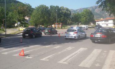 Катастрофа затруднява движението на Новоселски мост
