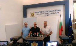 Главният секретар на МВР и окръжният прокурор с благодарности за задържането на Мартин