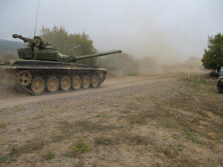 Предупреждават за стрелба край Сливен от понеделник