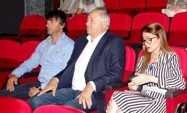 Кандидат-кметът на БСП генерал Кольо Милев в дискусия с местния бизнес