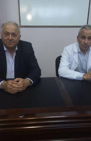 """Кольо Милев се срещна с лекари от МБАЛ """"Хаджи Димитър"""""""