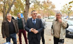 """Кметът Стефан Радев даде старт на санирането на блок 21 в """"Българка"""""""