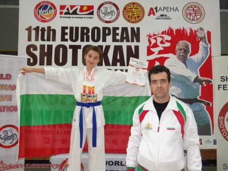 Два златни медала и бронз за Преслава Добрева от Европейско първенство