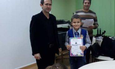 """От ОУ """"Димитър Петров"""" поздравяват млад математик"""