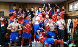 Младите сливенски футболисти с победа в Бургас