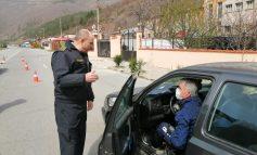Старши комисар Величков инспектира контролно-пропускателните пунктове в Сливен