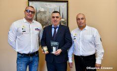 Наградиха Стефан Радев за принос в развитието на автомобилния спорт