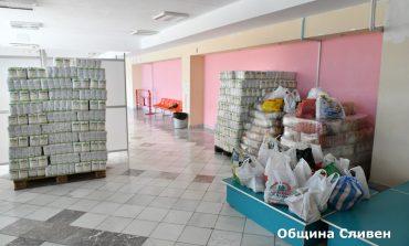 Хранителната банка в Сливен набира продукти