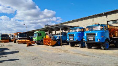 640 тона сол са приготвени за зимната поддръжка на магистралата в Сливенско