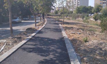 Спря асфалтирането на велоалеите заради забележки в изпълнението