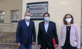 Областният управител обсъди ваксинацията и безопасността на изборите със зам.министър