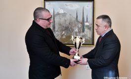 Нова награда за кмета Стефан Радев от Българската автомобилна федерация