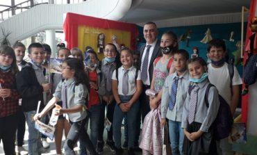 """Най-малките ученици от ОУ """"Димитър Петров"""" се включиха във Фестивала на детската книга"""