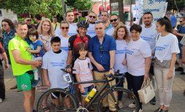 Листата на ГЕРБ и СДС посрещна Евгени Балев в Сливен