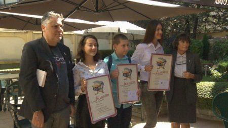 Сливенска ученичка с престижна литературна награда