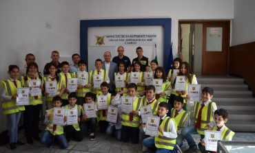 Доброволците от Детско полицейско управление завършиха успешно