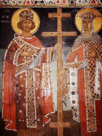 На 21 май Църквата почита паметта на светите Константин и Елена