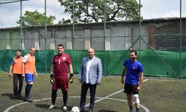Старши комисар Димитър Величков откри футболния турнир по случай празника на МВР
