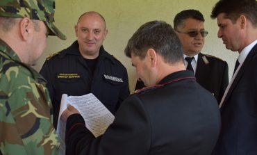"Учение и демонстрации на ""Ново село"""