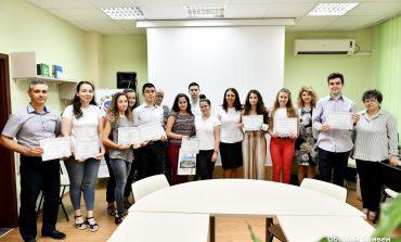 Наградиха отличниците на випуск 2019 в Сливен