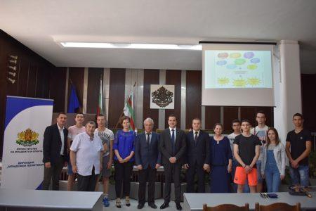 Зам.-министър обсъди стратегия за младежта в Сливен