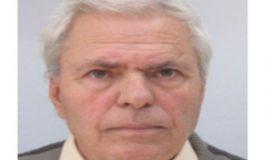 РУ-Сливен издирва 83-годишния Диню Тодоров
