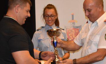 Шефът на полицията награди най-добрите спортисти в ОДМВР