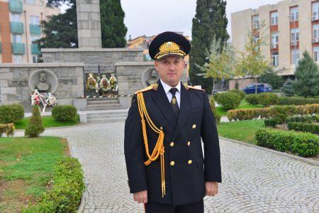 Поздравление от старши комисар Величков за професионалния празник на МВР