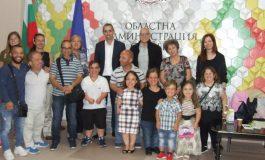 """""""Малките български хора"""" гостуваха в областната администрация"""