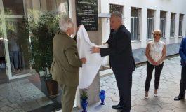 Откриха паметна плоча на д-р Планински пред МБАЛ