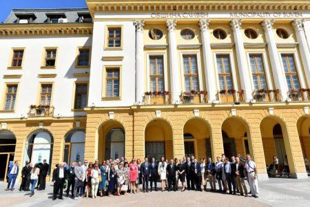 Сливен, Бидгошч и Ниш подписаха съвместно партньорство