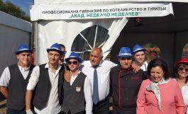 Бойко Борисов и Десислава Танева - гости на състезание по транжиране на месо в Сливен
