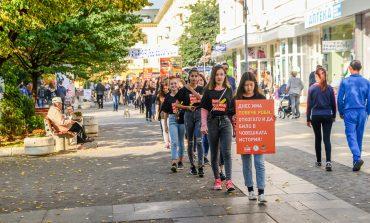 Сливенски младежи се включиха в инициатива срещу трафика на хора
