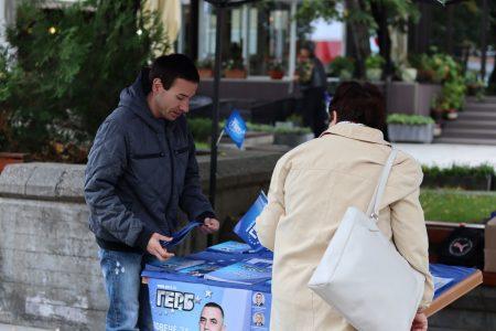 ГЕРБ-Сливен откри предизборната си шатра