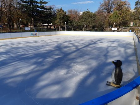 Новата ледена пързалка е два пъти по-голяма