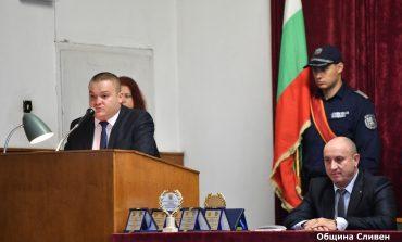 Румен Иванов поздрави служителите на реда за празника