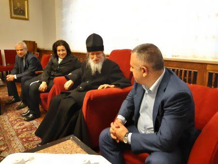 Митрополит Иоаникий благослови Стефан Радев
