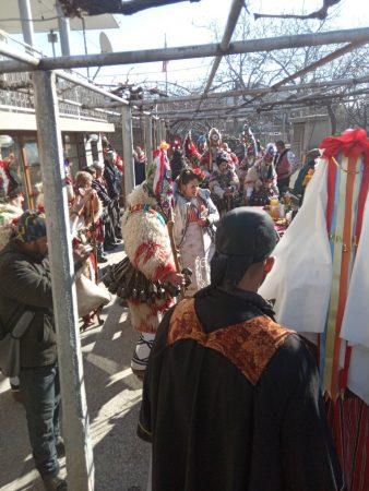 Желю войвода посреща маскарадните игри в неделя
