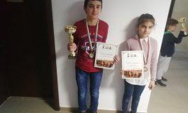 Медали за млади сливенски шахматисти