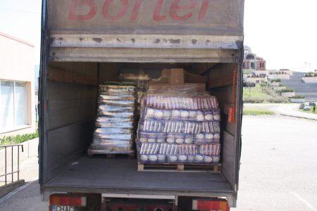 ГЕРБ–Сливен дари 6 тона продукти на Общинската хранителна банка