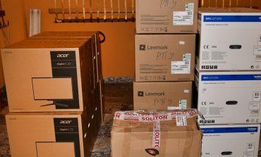 Община Сливен дари на полицията компютри