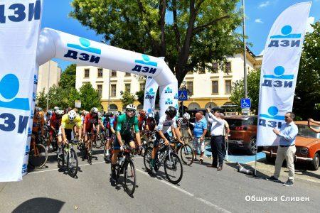 Финалният етап на Обиколката на България тръгна от Сливен