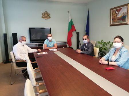 Председателят на НСИ посети областната администрация във връзка с преброяването