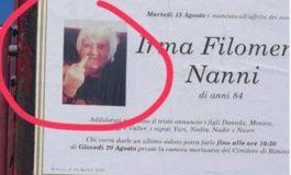 Некролог на италианска баба стана хит в интернет