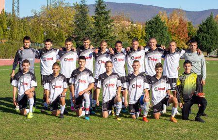 Юношите на ОФК Сливен-2000 завършиха полусезона с победа, водят в Зона Пловдив