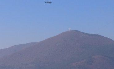 Американски хеликоптер кацна със закъснение във Военна болница, спаси дрямката на пенсионерите