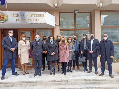 ГЕРБ регистрира листата си с кандидати за народни представители от Сливен