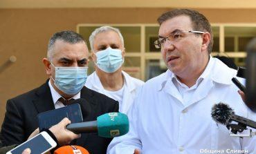 Министър Ангелов: Ситуацията в Сливен е под контрол, поздравявам кмета!