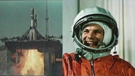 Преди 60 години Юрий Гагарин стана първият човек, полетял в космоса